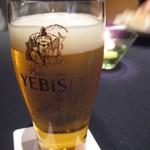 コートヤード・マリオット銀座東武ホテル - エビスビール飲み放題でした!