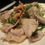 コートヤード・マリオット銀座東武ホテル - この豚しゃぶが美味しかった