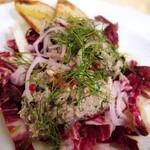 ナプレ - 長崎県産 鯖のパテとラディッキオのサラダ仕立て