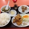 天和 - 料理写真:唐揚げ定食  720円
