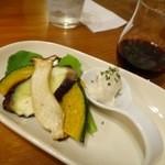 15467263 - 温野菜&アンチョビのムース
