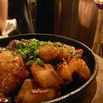 イチズ - ホルモンキムチ炒め