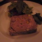 ラターシュ - 自家製 鴨と猪のパテ 1200円