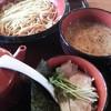 イツワ製麺所食堂 - 料理写真:イツワつけ麺@\730- 麺太め指定