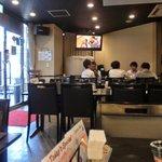 バンケットルーム赤坂 HITOTSUGI - 店内のテーブル席の風景です