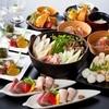 あきた美彩館 - 料理写真:『美の国あきたまるごとコース』比内地鶏スープを使ったきりたんぽ鍋付の大人気コース5000円