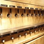 ブルゴンディセ ヘイメル - 生ビールの種類は10種類。6種がベルギービール、4種がクラフトビール。