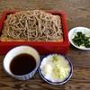 赤松ドライブイン - 料理写真:もりそば(十割)