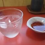 宇都宮みんみん - お水の入れ物がなんだか可愛い