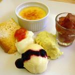 キッチンカズ - デザートプレート