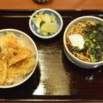 そば処戸隠 - 料理写真:天丼セット