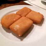 ロッツォシチリア - シチリア産 ペコリーノチーズのフリット