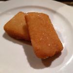ロッツォシチリア - 小分けした ペコリーノチーズのフリット