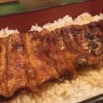 おおずし - 鰻重。寿司屋さんなのに、鰻が凄く美味しい。