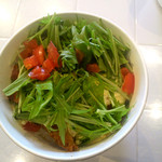 イルミオ - 白身魚のフライ サラダのせ