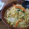 らーめん龍二 - 料理写真:「野菜味噌ラーメン・大盛 @800円」