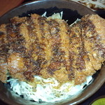 七福の湯 - ソ-スカツ丼