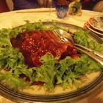 北白川中国料理 叡 - トンポーロと大原野菜のわさび菜