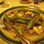 北白川中国料理 叡 - 大原野菜の炒めもの