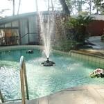 指帆亭 - 中庭にあるプール