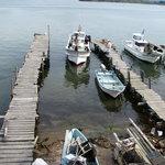 民宿 菊水 - その他写真:宿の直ぐ裏は船着場