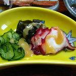 民宿 菊水 - 料理写真:蛸 酢味噌