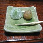 民宿 菊水 - 料理写真:果物 凍ってました
