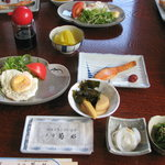 民宿 菊水 - 料理写真:朝食は普通