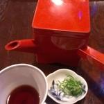 手打ち蕎麦 東風 - 蕎麦湯