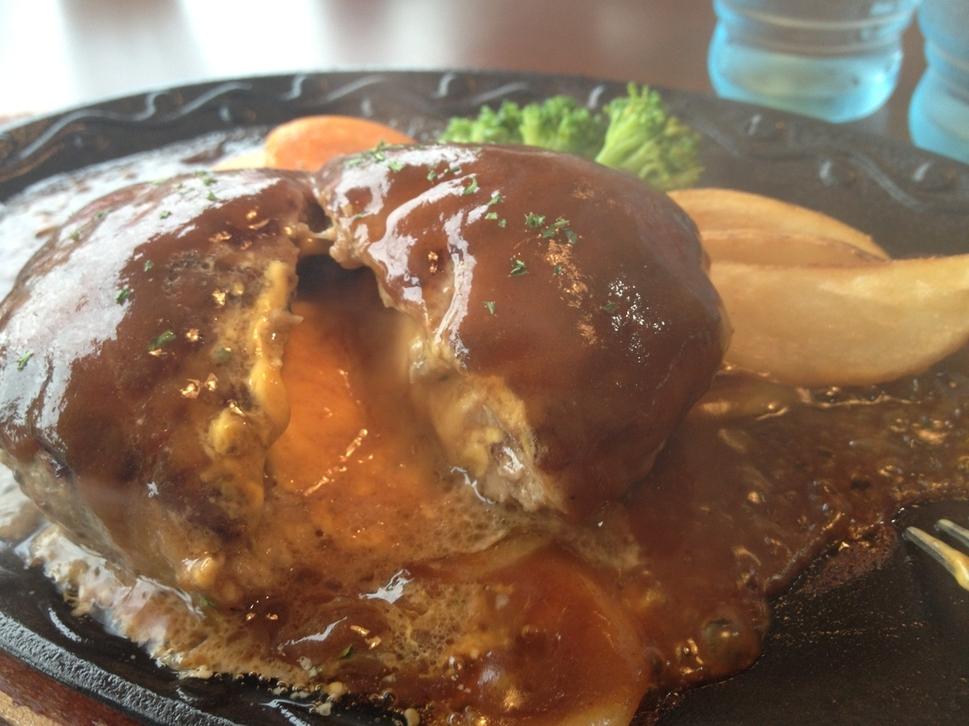 ステーキハンバーグ&サラダバー けん 米沢店