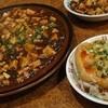 中華料理薔薇飯店 - 料理写真:麻婆豆腐と棒棒鶏