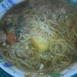 ポワール - 料理写真:チキンカレースパゲティ