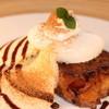 LONCAFE - 料理写真:プレーンタイプのフレンチトースト(チョコレートとシナモン)