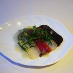 古の座専用レストラン 灯々 - 料理写真:食前のちいさなお楽しみ
