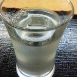 蔵元屋 - 石槌 純米吟醸 春の酒 槽搾り(200円)