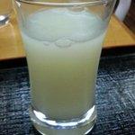 蔵元屋 - 千代の亀 銀の露 活性生酒(300円)
