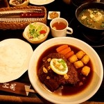 菊 - ダブルステーキセット \2,500