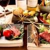 串かつ 花むら - 料理写真:【おまかせコース】3400円 料理長が考案した季節の串かつコース!トマトのチーズ詰やベトナム春巻など創作串が楽しめます。
