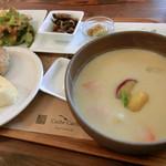 カシュ カシュ - 栗のほっこりスープ(スープランチセット)