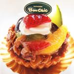 洋菓子工房 ボン・シック - フルーツタルトレット(350円)