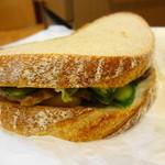 花七穂 - 料理写真:焼豚のサンドイッチ