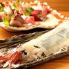 神楽坂 イカセンター - 料理写真:活イカの姿造り!驚異的な鮮度です。