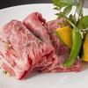 かわちどん - 料理写真:かわちどん名物 国産牛肩肉