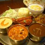 ゴングル - 豪華でお得なゴングルターリ! 味も量も大満足のコースです!