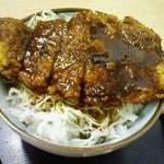おおしも食堂 - ソースカツ丼650円