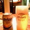 子子子 - ドリンク写真:沖縄~ といえば オリオンビール