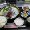 魚市場食堂 - 料理写真:本日は地アジ入刺身定食