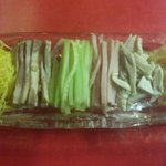 中国料理 龍亭 - 涼拌麺(具)