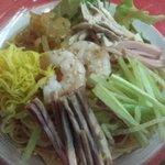 中国料理 龍亭 - 涼拌麺(具&麺)