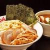 Hinoderamen - 料理写真:剛つけ麺に色々トッピングしてみましたw